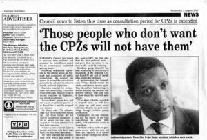 2006  | CPZ in the news