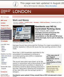 2007-2009 | CPZ in the news