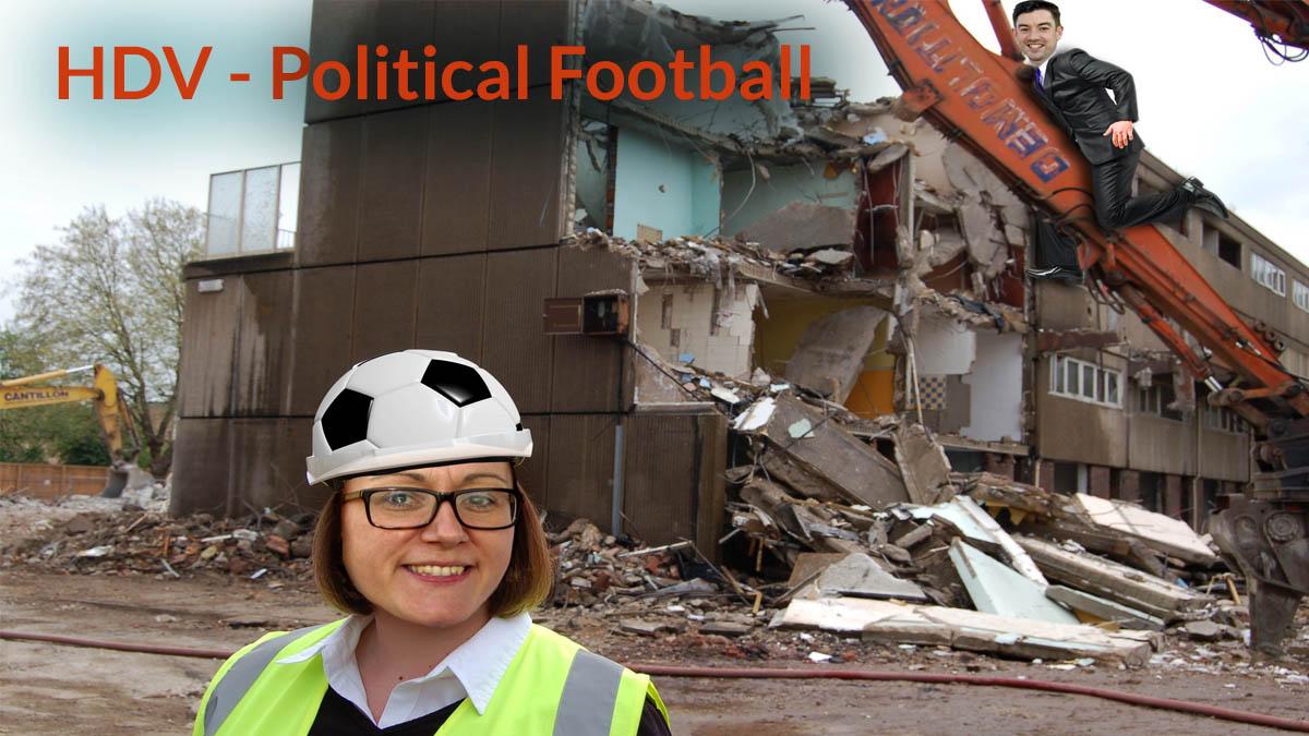#HDV Political football