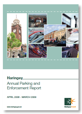 Haringey parking anuall report 2009