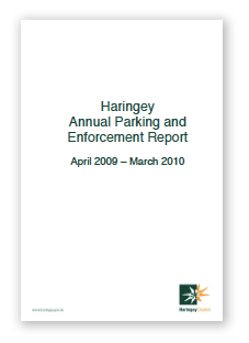 Haringey parking anual report 2010