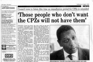 CPZ – Get Involved