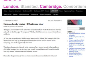 #HDV news on LSCC London Stansted Cambridge Consortim