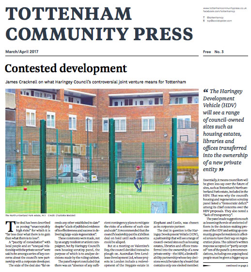 Tottenham Community Press